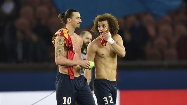 """Pour David Luiz, """"garer le bus"""" contre le PSG, c'est dangereux"""