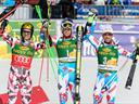 Hiršeru kristalni globus, Panutrou pobeda u Kranjskoj Gori -Alpsko Skijanje
