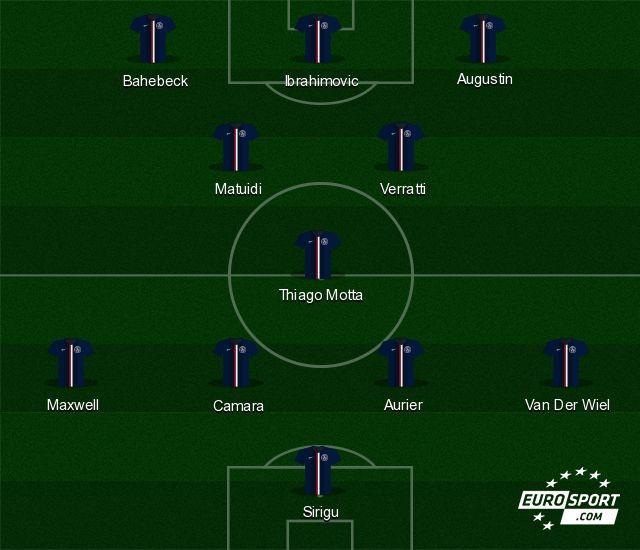 La composition possible du PSG sans joueur sud-américain.