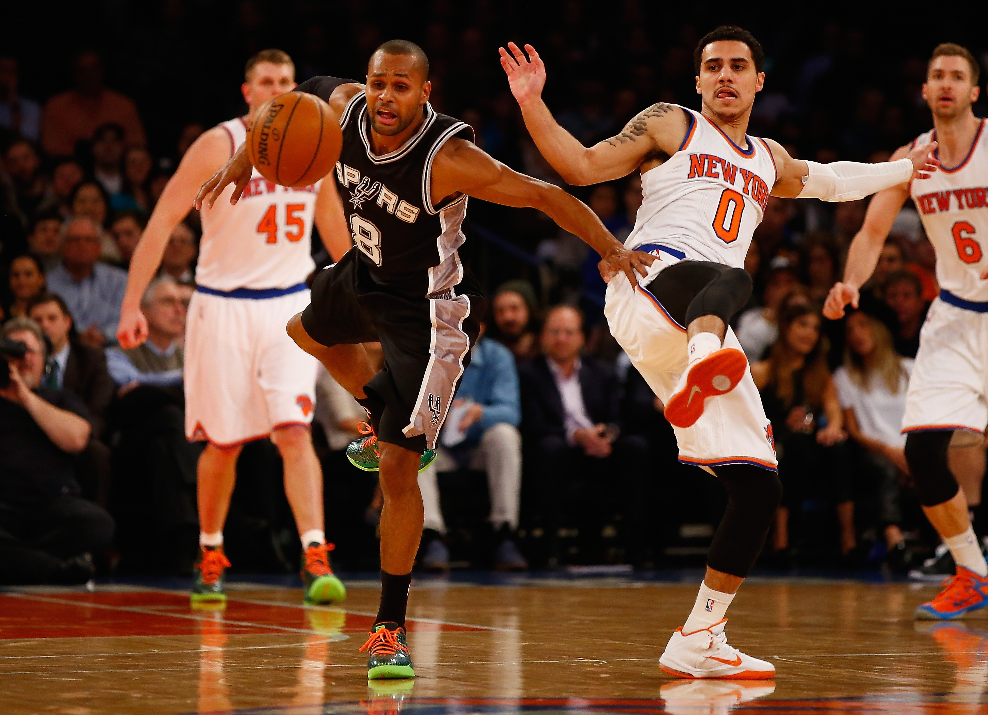 Shane Larkin, Knicks formasıyla