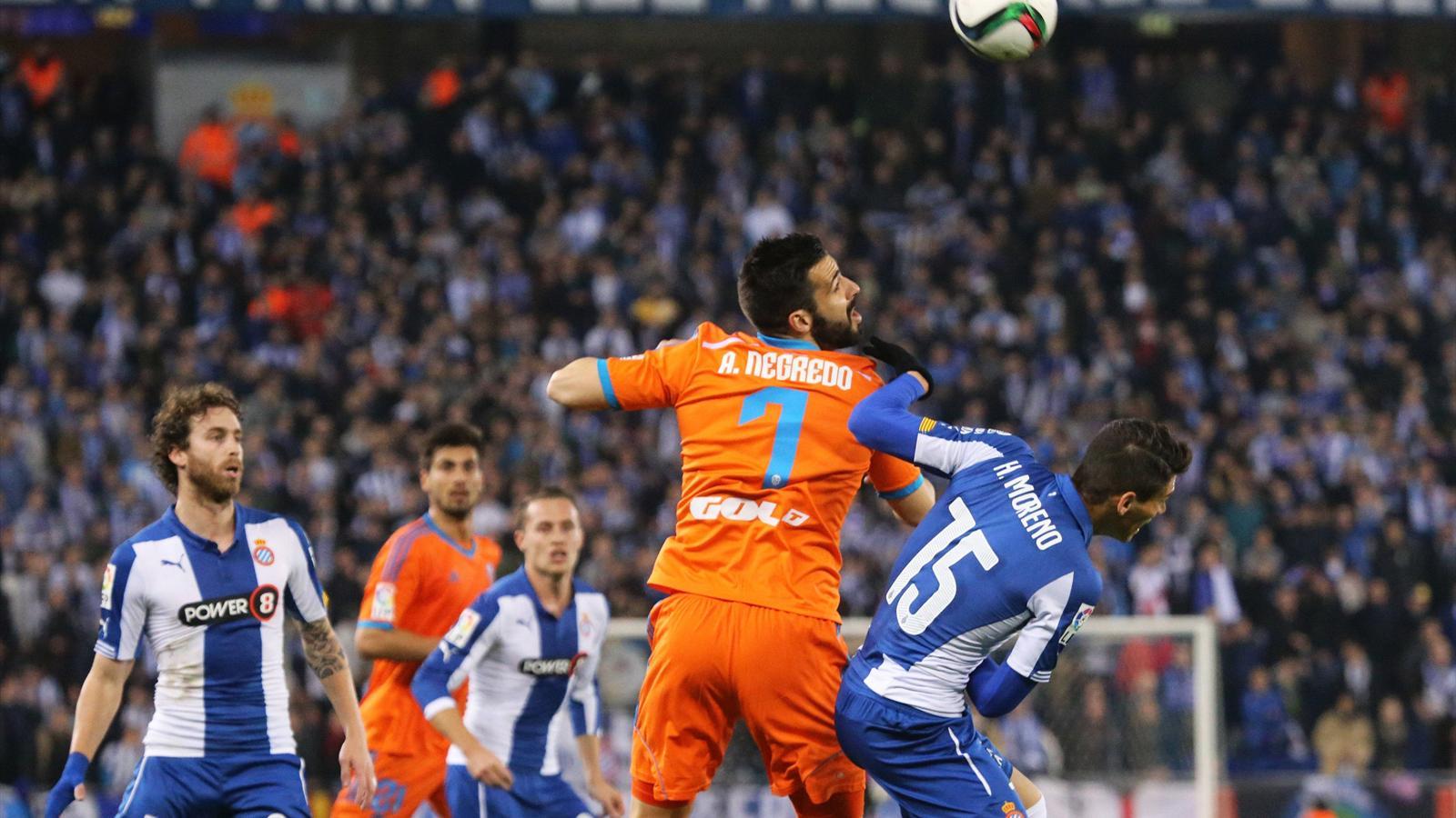 Espanyol - Valencia, Copa DEL Rey, Alvaro Negredo