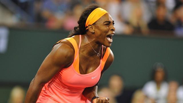 Serena Williams a répondu de belle manière au défi Halep