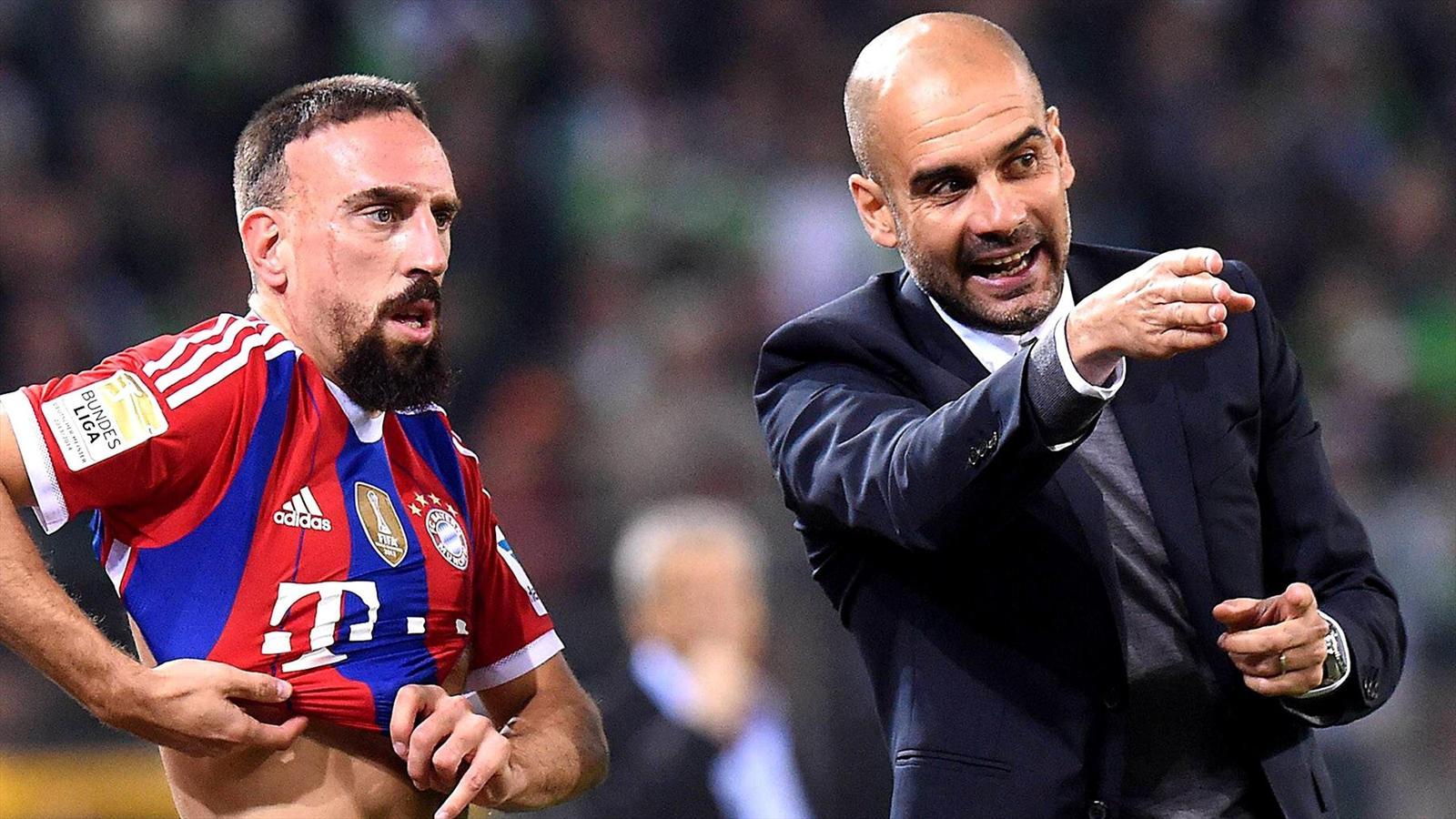 Franck Ribery: Louis van Gaal is an uncaring 'bad man' - Bundesliga 2011-2012 - Football - Eurosport Asia