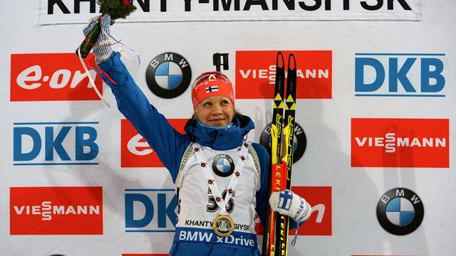 Макарайнен выиграла спринт, Акимова – 12-я