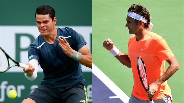 Raonic empêche les retrouvailles entre Nadal et Federer