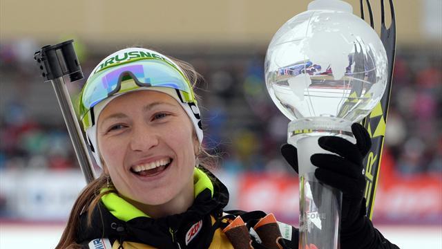 Darya Domracheva no competirá la próxima temporada