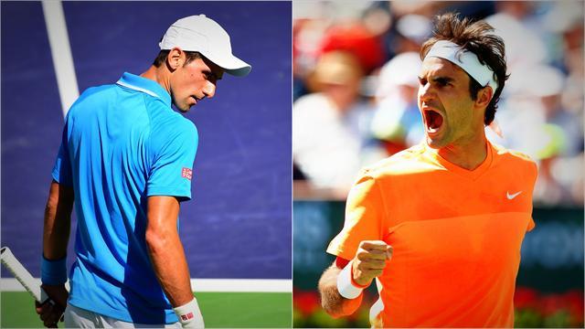 """Federer: """"Si quelqu'un peut lui faire peur, c'est peut-être moi"""""""