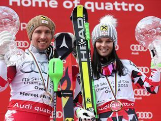Feninger pobedila Maze i osvojila Svetski kup-Alpsko Skijanje