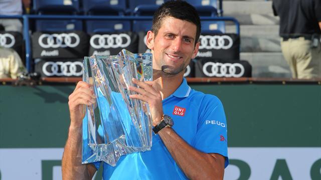 Les 5 stats qui montrent que Novak Djokovic marche sur l'eau depuis 6 mois