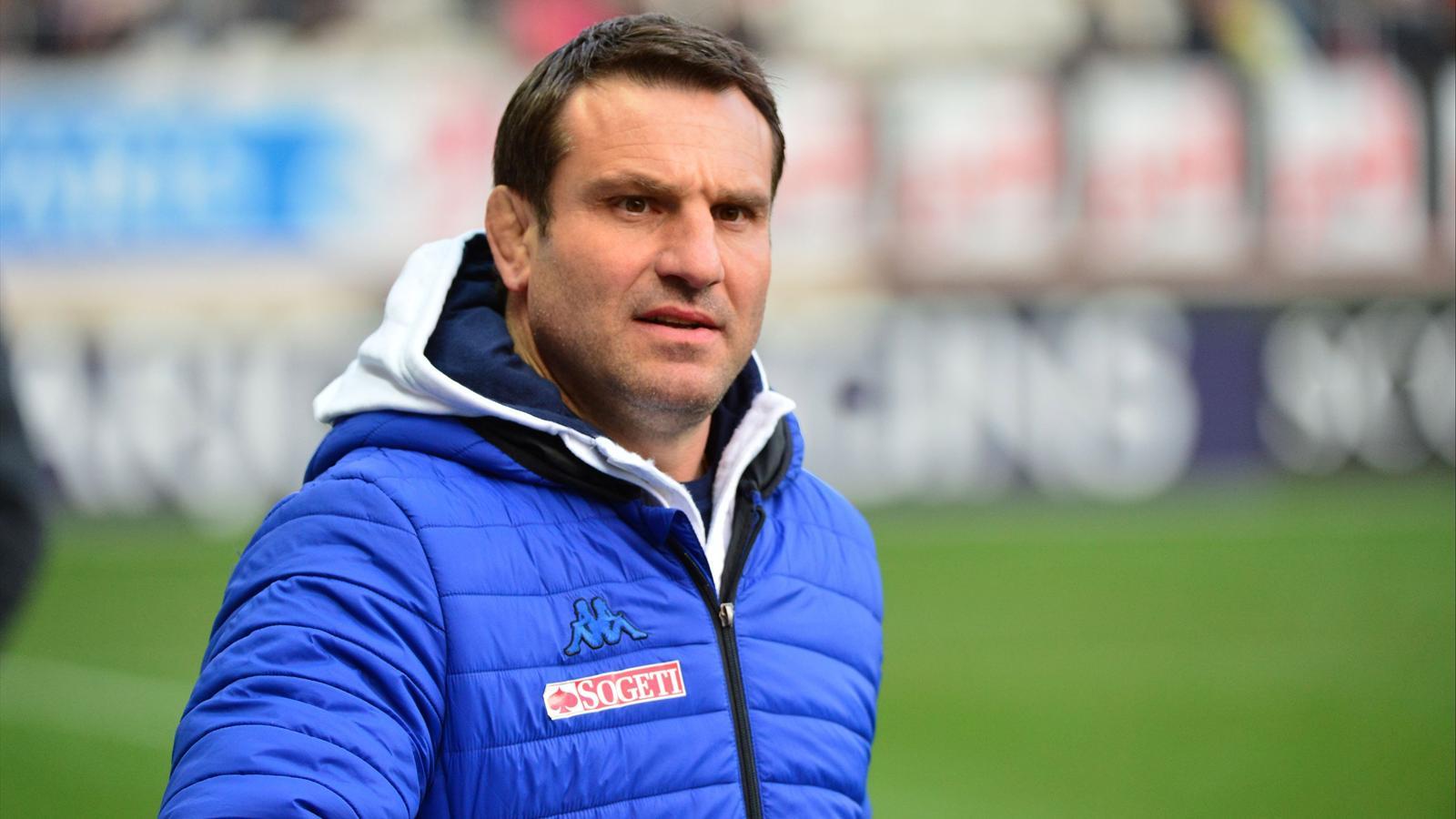 Fabrice Landreau, l'actuel directeur du rugby de Grenoble - Mars 2015