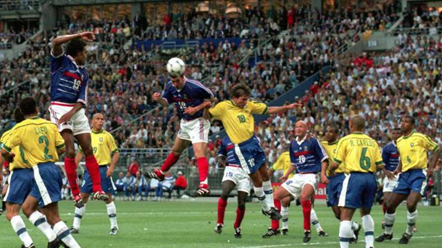 """Platini avoue """"une petite magouille"""" en 98 pour que la France et le Brésil s'évitent"""
