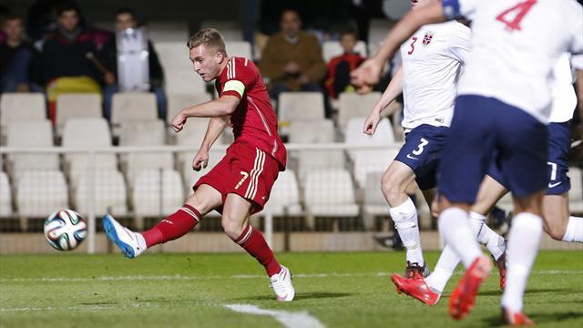 España-Noruega: Partidazo de Deulofeu y gol Munir (2-0)