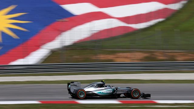 Rosberg est le mieux pr�par� pour la qualification