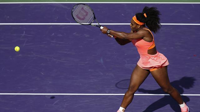 Serena galibiyetle başladı