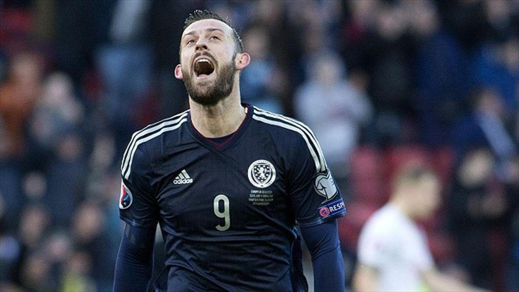 7fe81c5abcb Steven Fletcher scores hat-trick as Scotland rout Gibraltar - Euro 2016 -  Football - Eurosport UK