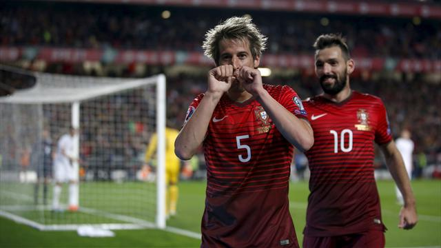 Fabio Coentrao gives Portugal priceless victory over Serbia