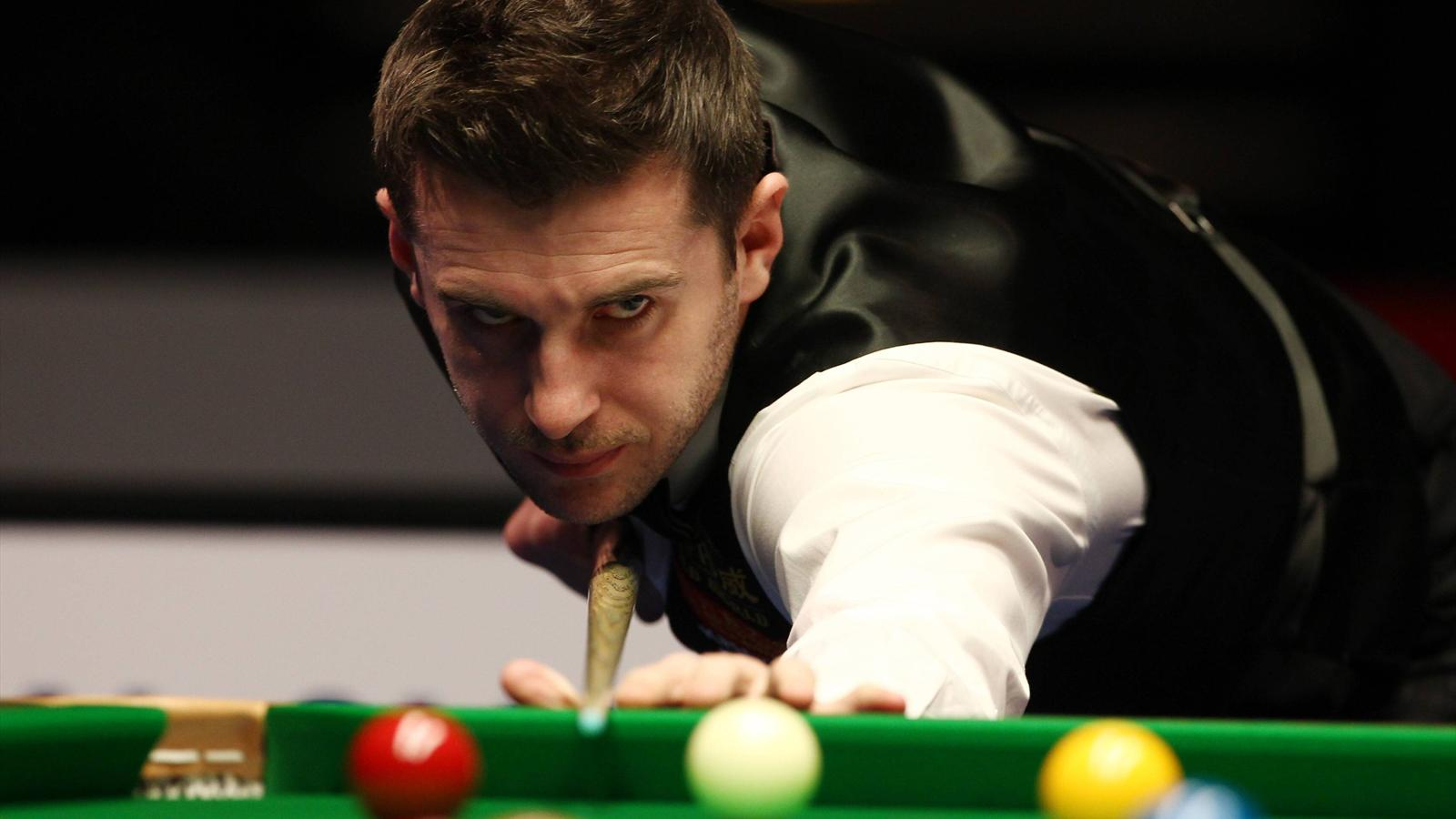 Defending champion Mark Selby falls to 'curse of the Crucible' - World Championship 2014-2015 - Snooker - Eurosport
