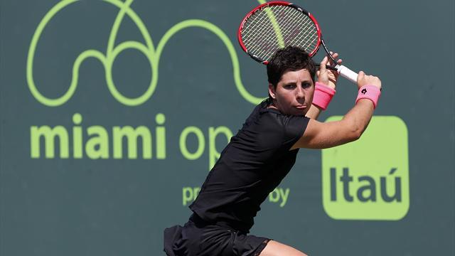 Miami'de ilk finalist Carla Suarez Navarro