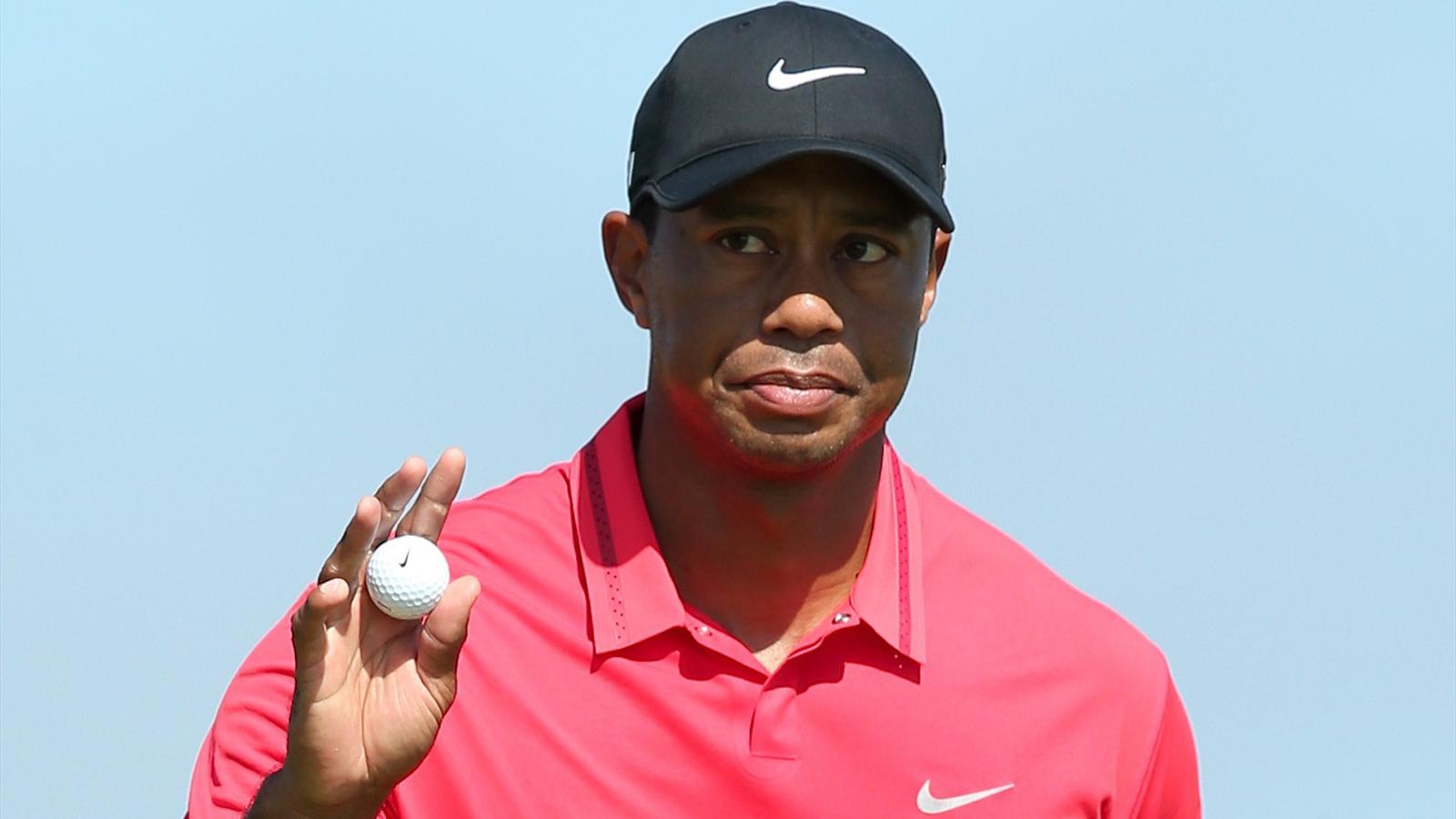 tiger woods - fiche joueur - golf