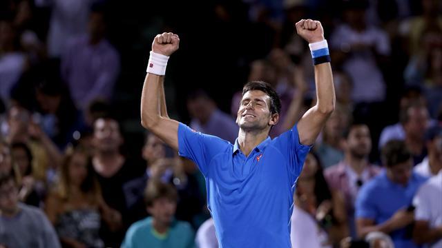 Personne n'arrête Djokovic, surtout pas Isner
