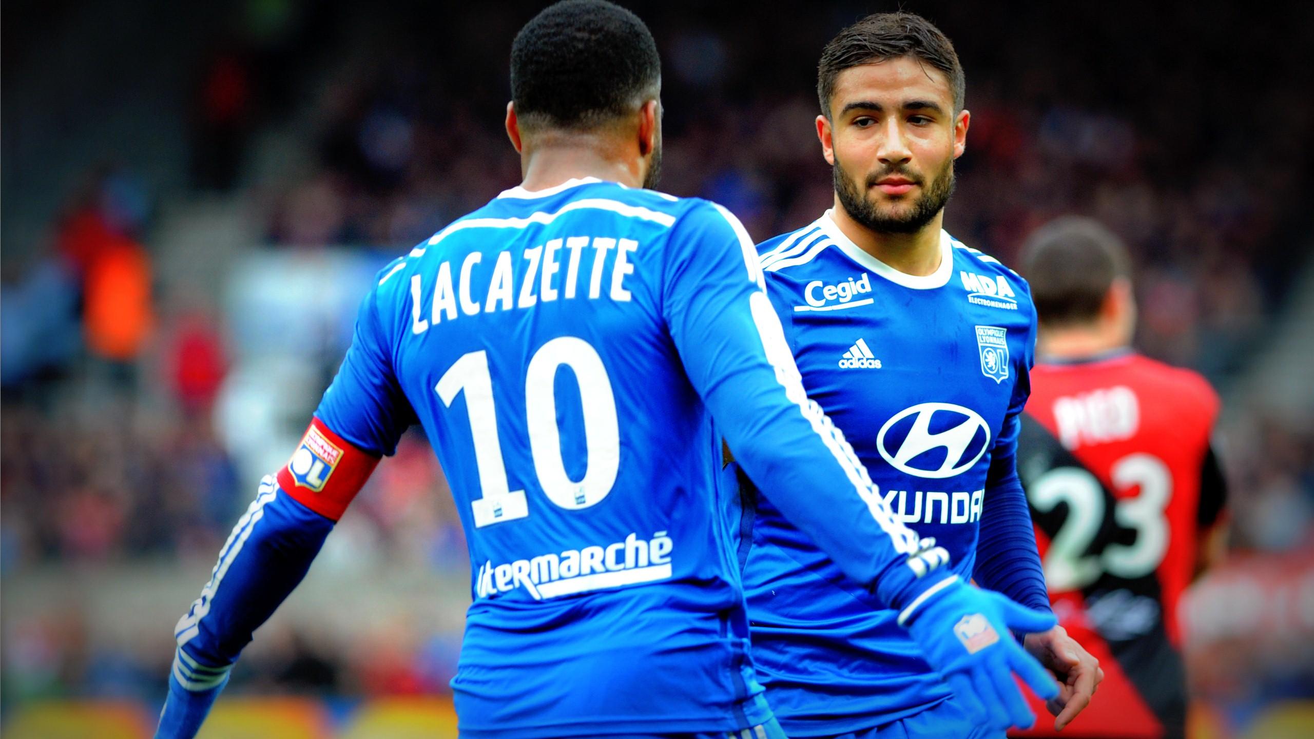 Lacazette et Fekir ont tous les deux marqué à Guingamp.