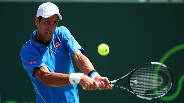Tennis : Djokovic repart en conqu�te