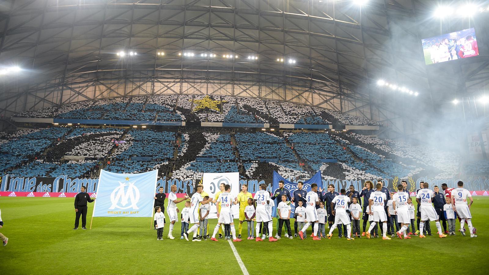 Om psg le tifo exceptionnel du stade v lodrome ligue 1 for Porte 7 stade velodrome