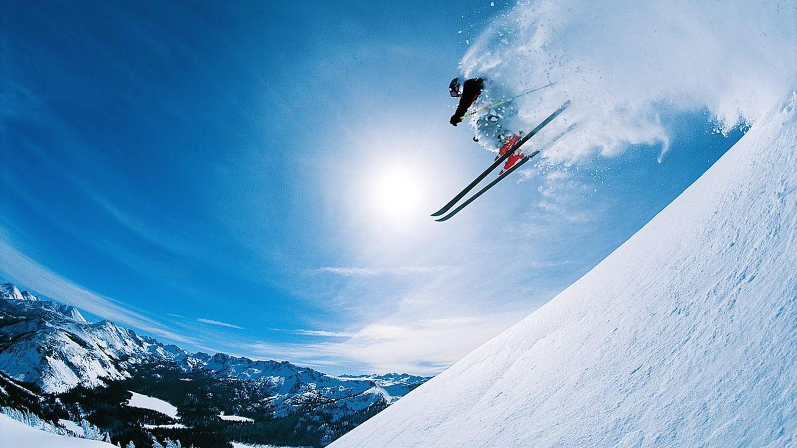 эротика на горнолыжном спорте