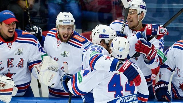 СКА прекратит общение с прессой на время финальной серии Кубка Гагарина
