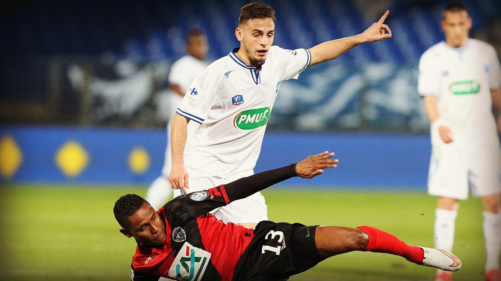 Coupe de france auxerre guingamp 1 0 retour vers le - Resultats coupe de france football 2015 ...