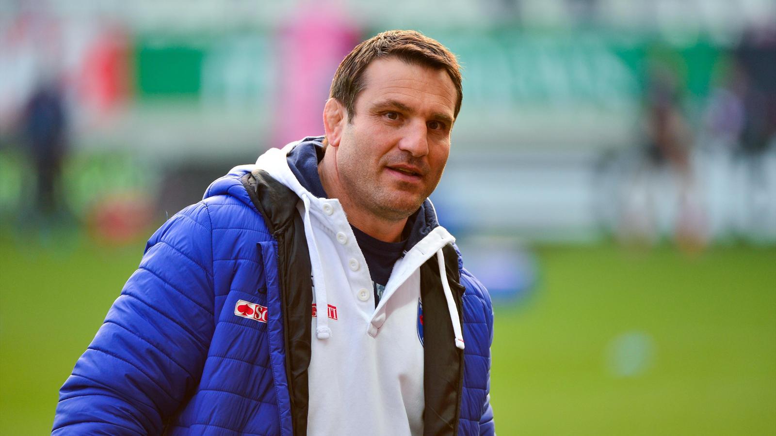 Fabrice Landreau, le manager de Grenoble
