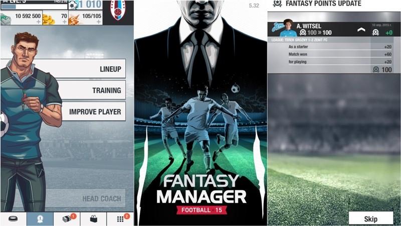 Fantasy Manager 15