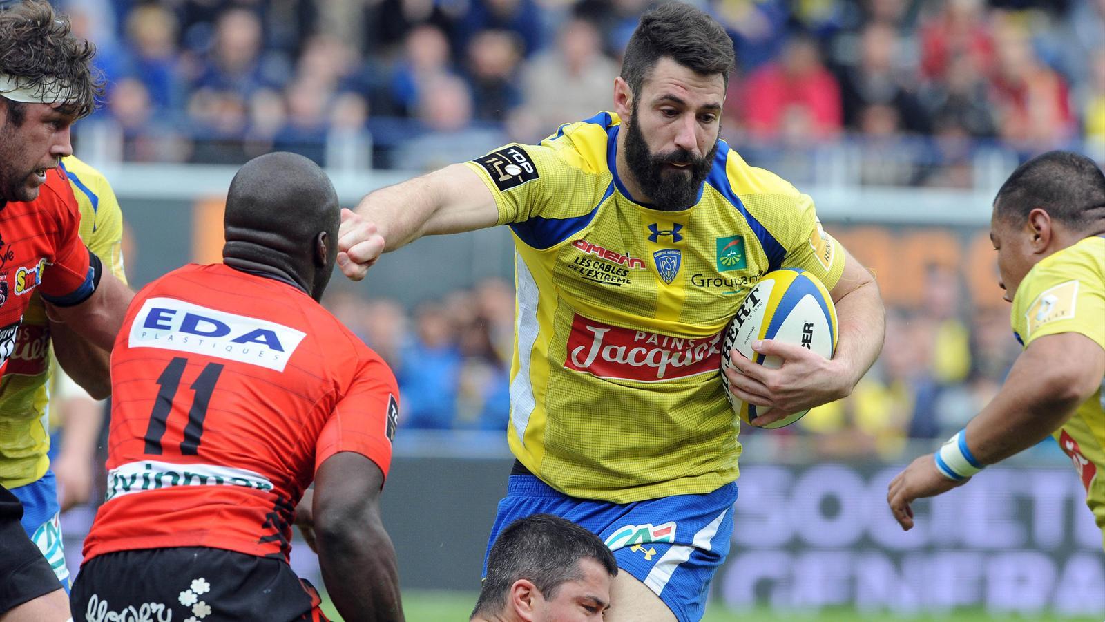 Julien Malzieu face à Dug Codjo - Clermont-Oyonnax, 11 avril 2015