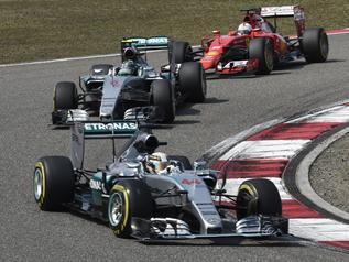 Hamilton slavio u Šangaju-Formula 1