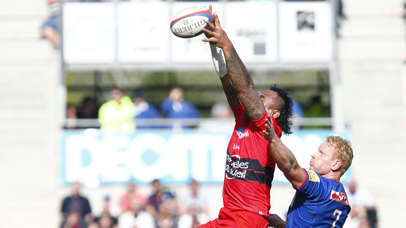 Kimlin (Grenoble) dominé en touche par Suta (Toulon)