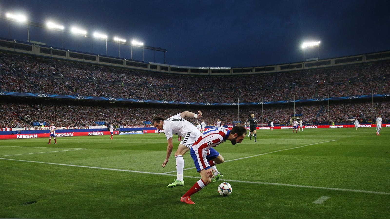 Atletico Madrid - Real Madrid Godin ve Bale