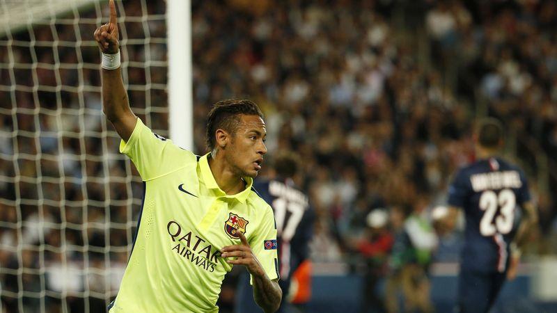 19e minute : Neymar trompe Sirigu de près. Le Barça est sur les rails. La débâcle du PSG aussi.
