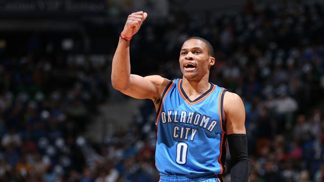 """Westbrook : """"Cela me fait une belle jambe, g�nial, je vais suivre les playoffs � la t�l�"""""""