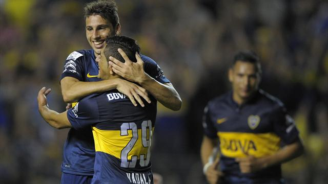 Boca win sets up Libertadores derby against River Plate