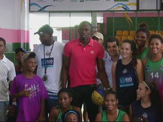 Bolt kosarazik!  VIDEÓ-Atlétika