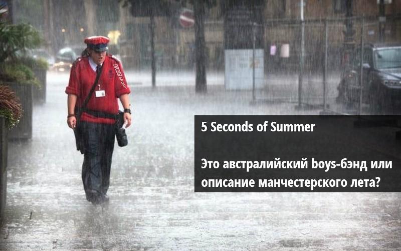 Погода в Манчестере