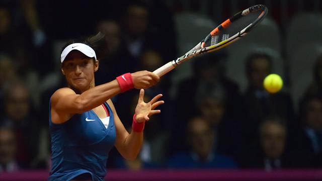 Garcia - Kvitova EN DIRECT