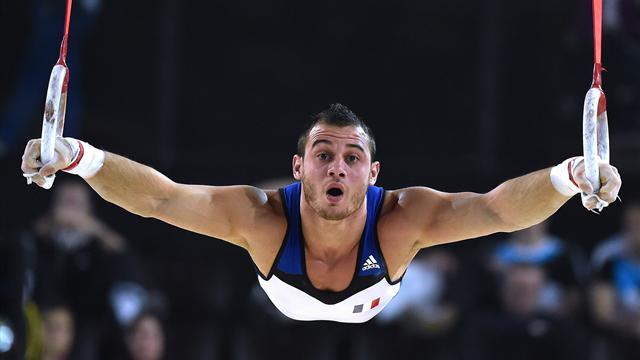 Рио-2016: французский гимнаст сломал ногу после опорного прыжка (18+)