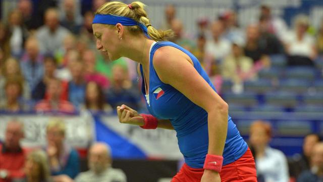 Holders Czech Republic beat France to reach Fed Cup final