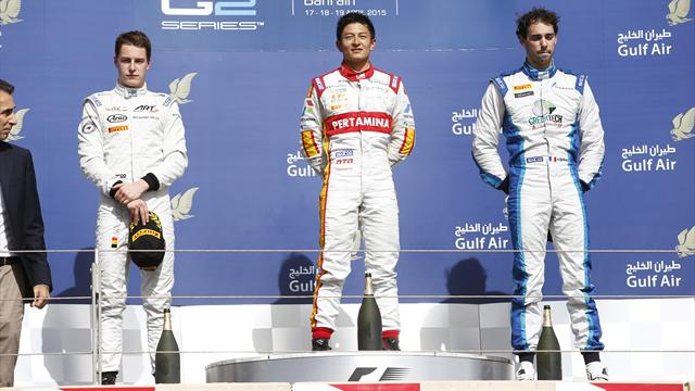 Haryanto vainqueur devant Vandoorne et Berthon