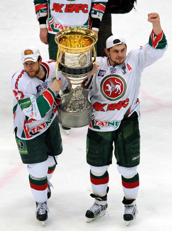 Чемпионат КХЛ: СКА — Ак Барс