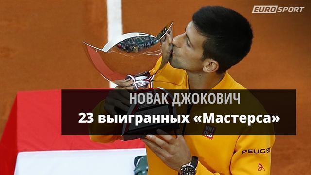 Джокович обыграл Бердыха и догнал Федерера по выигранным «Мастерсам»