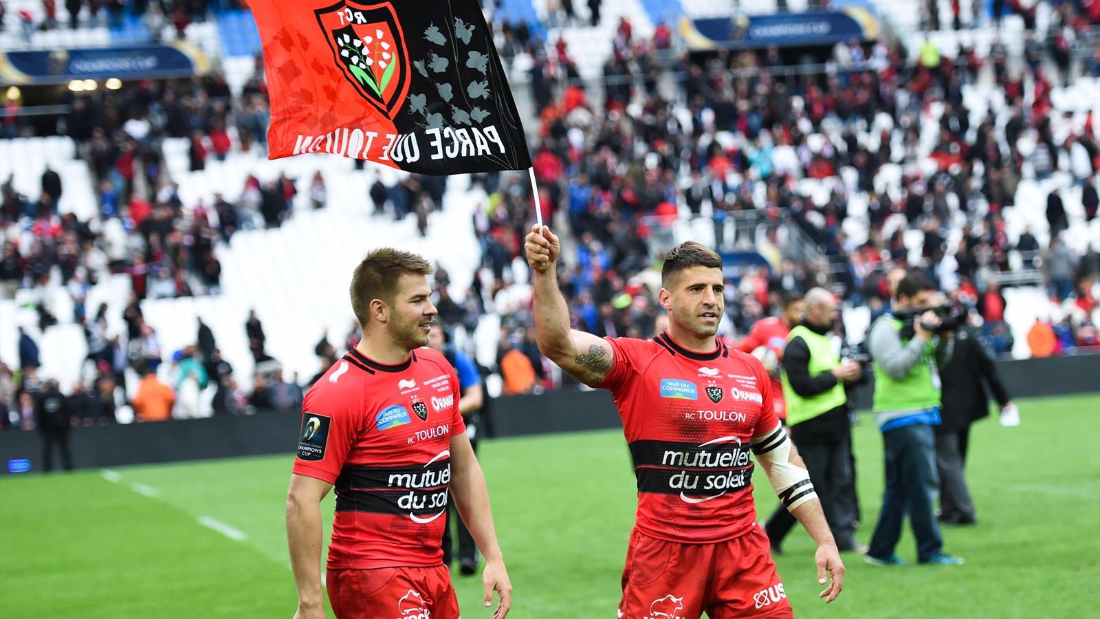 Drew Mitchell et Sébastien Tillous-Borde (Toulon) qualifiés pour la finale de Champions Cup - 19 avril 2015