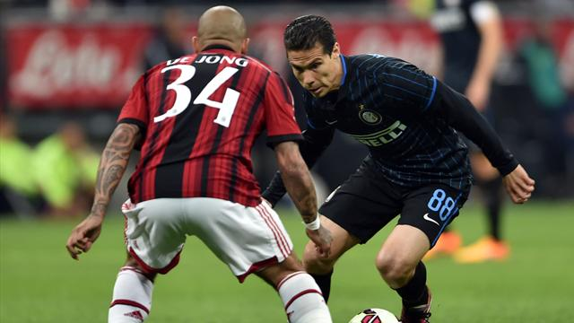 Le pagelle di Inter-Milan 0-0