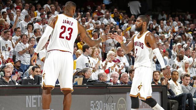 Irving brille pour ses d�buts en playoffs, Cleveland assure contre Boston